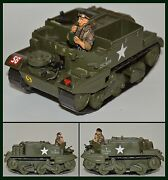 King And Country Wooden Ww Ii Bren Gun Carrier Very Rare