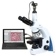 Omax 40x-3000x 10mp Digital Quintuple Infinity Plan Phase Compound Microscope