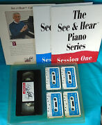 Introductory Piano Lesson Series, See And Hear, Books And Audio Cassettes, 1991