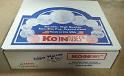 100 Koin Penny Cent Coin Tubes New Wheat Storage Lincoln Steel Indian Head
