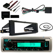 Harley Flht 98-13 Install Adapter Kit Bluetooth Pioneer 1din Receiver Antenna
