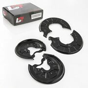 4x Brake Disk Cover Plate Splash Plate Front Rear Set For Audi A3 8p New