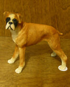 Castagna Dog Figurines 101 Boxer, Made In Italy, New/box From Retail Store 4.7