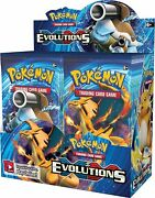 Pokemon Tcg Xy Evolutions 36-pack Booster Box [trading Card Game Nintendo] New