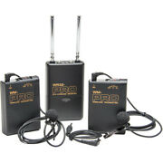 Pro 5d W2lm Dc 2 Wireless Lavalier Mic For Canon Eos R 5ds 5dsr Ii Mark Iv 1d X
