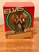 Elvis 1996 Carlton Cards Musical Christmas Ornament 2nd In A Collectible Series