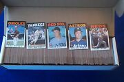 1986 Topps Baseball Complete Set 792 Cards Nm/mint Free Shipping