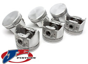Set Of Je Forged Pistons And Rings For Holden Calais Vs Vt Vx Vy L67 S/c 3.8l V6