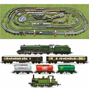 Hornby Digital Train Set Hl12 Layout - Multi Track With 2 Trains And Turntable