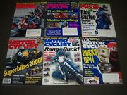 1990s-2000s Assorted Motorcycle Magazines Lot Of 18 - Motorcyclist - Pb 355