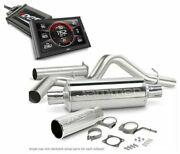 Edge Turbo Back Jammer Exhaust And Cts2 Diesel Programmer For 98-02 Dodge Ram 5.9l