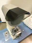 Nikon V-12a Optical Comparator 12 Frosted Glass 20x,50x,100x Lenses Details