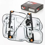 Complete Window Regulator With Metal Plate Front Right For Vw Touran