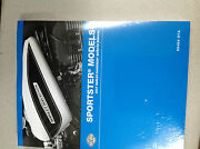 2007 Harley Davidson Sportster Service Shop Manual Set W Electrical And Parts Book