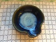 New! | Signed | Bill Campbell Art Pottery | Spoon Rest | Great Gift!