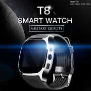 Smart Watch Unlocked Watch Cell Phone With Facebook Twitter Sync For Men Women