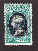 Us O68 2 State Department Official Used F-vf Sound Scv 3000