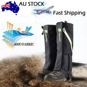 Menand039s Outdoor Hiking Hunting Snow Reptile Waterproof Boots High Legging Gaiters