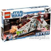 Lego Star Wars 7676 Republic Attack Gunship - Authentic Factory Sealed Brand New