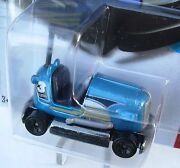 2013 Hot Wheels 145/250 Blue Bump Around Super Chromes New In Package