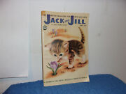 Vintage Jack And Jill Magazine. Stories,cut Outs, Puzzles For Kids..april,1959