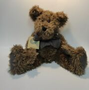 New With Tags - Boyd's Bears And Friends - Plush Jointed Bear. D.l. Merrill