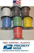 16 Gauge 100' Ft X 4 Rolls = 400' Awg Primary Automotive Wire Copper Stranded