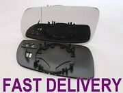 Vw Golf 4 Iv 97-04 Direct Wing Mirror Glass L/hs Heated