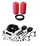 Air Lift Control Air Spring And Dual Path Leveling Kit For Lincoln Mkt/mks