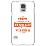 Amzer Success Do Your Best Hard Protector Case Snap On Slim Phone Cover