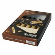 Narex 5 Piece Carbon Steel Wood Carving Tool Starter Chisel Set For Beginners