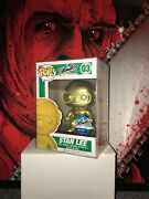 Funko Pop Gold Stan Lee Nycc 2015 Exclusive New Mint Condition W/ Protector