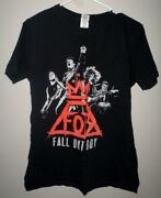 Fall Out Boy Med T Shirt Punk Save Rock Tee Fob Softcore Live Monumentour 2014