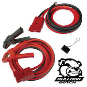 Bulldog Jumper Cable Set 20ft 2ga W/quick Connects And 7.5ft Lead - Tow Work Truck