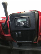 Polaris Ranger In-dash Stereo Panel With Stereo W/bluetooth P/n 13513-mil-black
