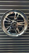 For Harley Newport 18 X 9.5 Chrome Cnc Wheel Usa Made Wide Tire Applications