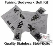 Partial Or Complete Fairings Bolt Kits Stainless For Suzuki Gsxr1100 1993-1998