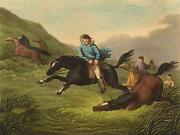 South America Pions Gauchos Cowboys Catching Wild Horses Edward Orme 1814