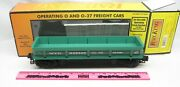 Mth 30-7941 New York Central Dump Car With Operating Bay