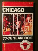 Chicago Bulls 1977-78 Nba Media Guide - Artis Gilmore