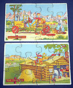 1930s Childrens Comic Cartoon Picture Puzzles By Madmar Quality Co Jon Bloodgood