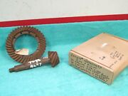 1941 Plymouth 1939-40 Chrysler 41-10 Ring And Pinion Gears Nos Lempco 218