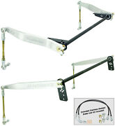 New Currie Antirock Front And Rear Sway Bar Kit,aluminum Arms,fits Jeep Jk 2-door