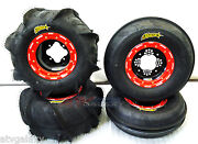 Dwt G3 Beadlock Wheels Itp Sand Star Paddle Tires Front Rear Kit 450r 400ex 250r