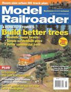 Model Railroader July 2007 Trees Ho N Scale Caboose Led Signal Dcc Switching