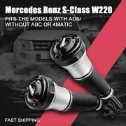 Front Air Suspension Struts Pair For 00-06 Mercedes S Class W220 S430 S500 S600