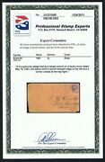 Civil War Scott 65 Csa South To North May 1863 Cover Pse Cert Beauford Nc To Ny