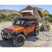 Overlander Roof Top Tent And Roof Rack For Jeep Wrangler Tj 97-06 Smittybilt