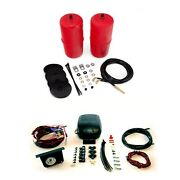 Air Lift Front Air Spring Kit And Load Controller 2 System/gauge For C10/jimmy