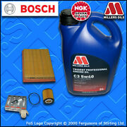 Service Kit For Mini One Cooper 1.6 Petrol R50 R52 Oil Air Filters Plugs +oil